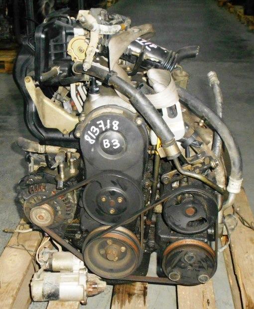 Двигатель Mazda B3 - 813719 AT FF DW3W Black без датчика скорости, без КПП 3