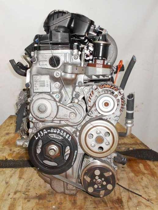 Двигатель Honda L13A - 4472983 CVT SE5A FF GE6 106 000 km коса+комп, нет выпускного коллектора 3