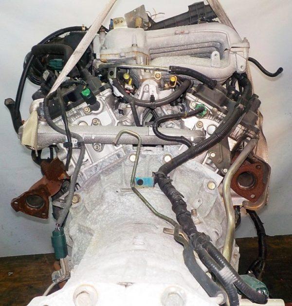 Двигатель Nissan VQ25-DE - 256038A AT RE5R05A FR Elgrand коса+комп 7