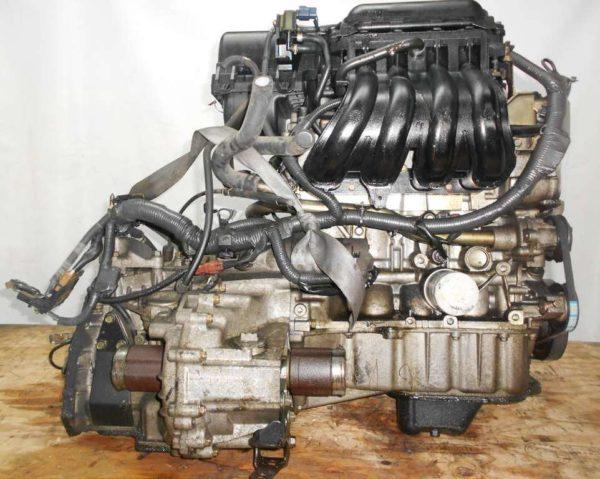 Двигатель Nissan CR14-DE - 280977 AT RE4F03B FF Z11 119 000 km коса+комп 4