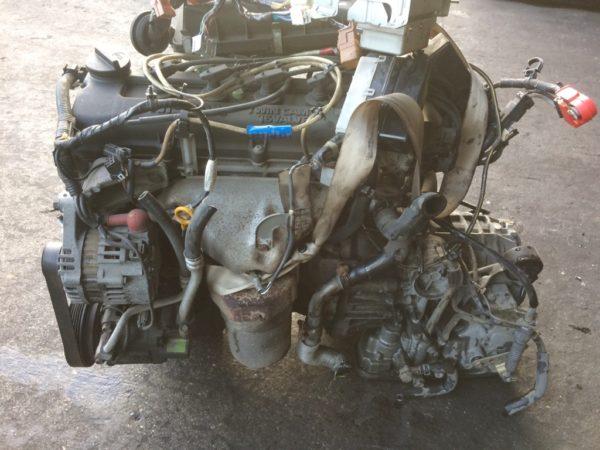 Двигатель Nissan CG10-DE - 386045B AT RE4F03B FQ40 FF K11 70 500 km коса+комп 1