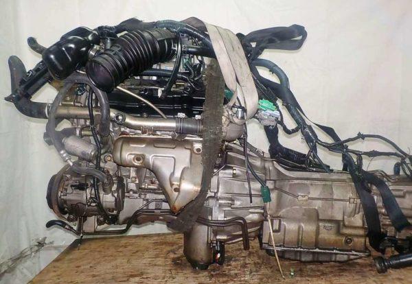 КПП Nissan VQ35-DE AT FR 4WD Elgrand 1
