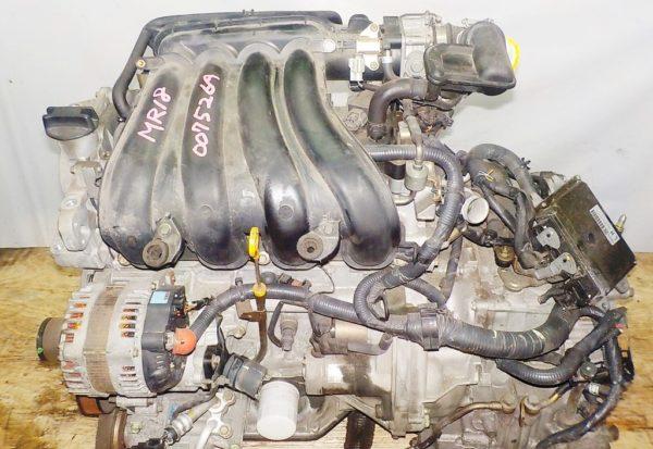 Двигатель Nissan MR18-DE - 007526A CVT RE0F08A FF коса+комп 2