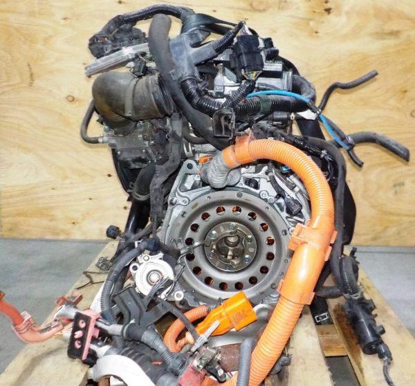Двигатель Honda LDA - 1331354 CVT SPSA FF FD3 коса+комп, без КПП 4