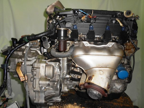 Двигатель Honda K20B - 1002012 CVT MZXA FF RN5 коса+комп 3