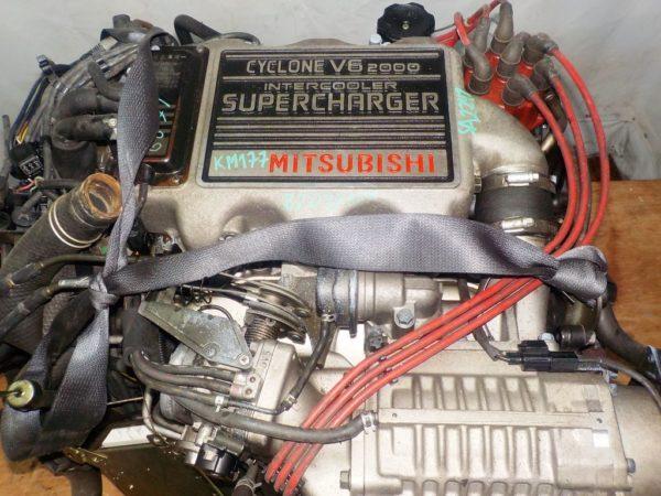 Двигатель Mitsubishi 6G71 - SA2242 AT FF S11A 87 097 km комп 2