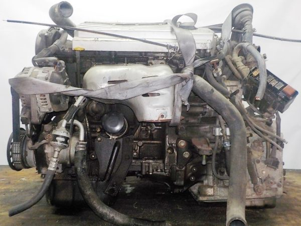 Двигатель Toyota 1MZ-FE - 4533500 AT FF 4WD Estima VVT-i 1
