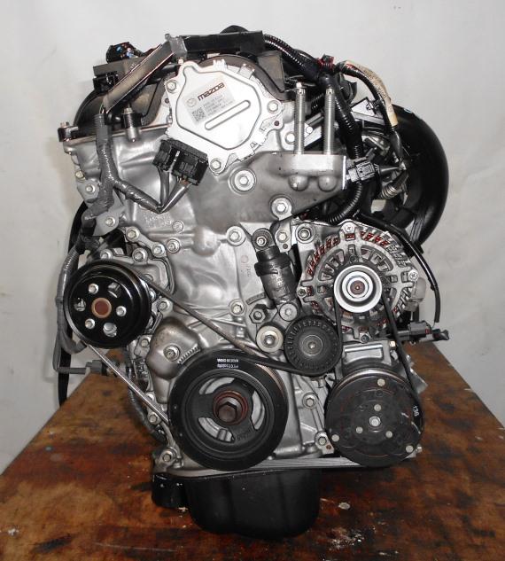 Двигатель Mazda P3-VE - 30202104 CVT FF DEJFS 86 000 km коса+комп 4