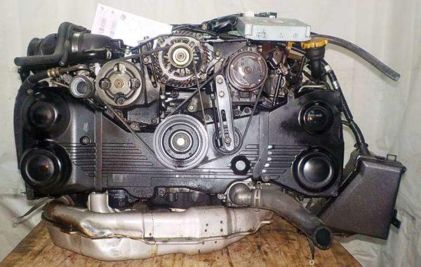 Двигатель Subaru EJ20-T - B871653 AT TG5C7CBABA-Y5 FR 4WD EJ20X BP5 комп 4