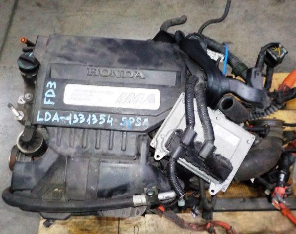 Двигатель Honda LDA - 1331354 CVT SPSA FF FD3 коса+комп, без КПП 2