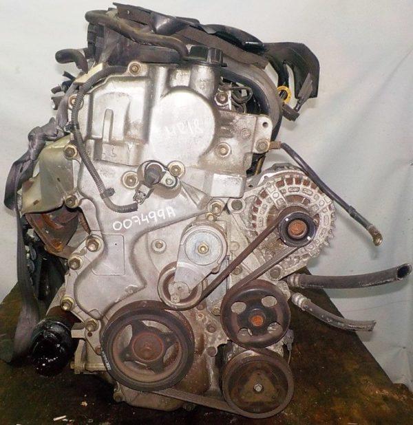 Двигатель Nissan MR18-DE - 007499A CVT RE0F08A FF коса+комп 3