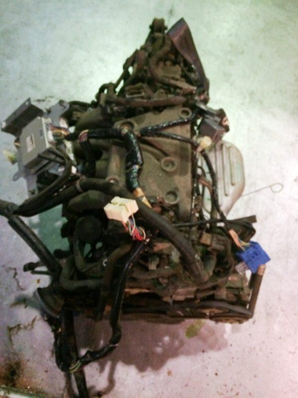 Двигатель Mazda FE - 504242 AT FR SGEW коса+комп 7