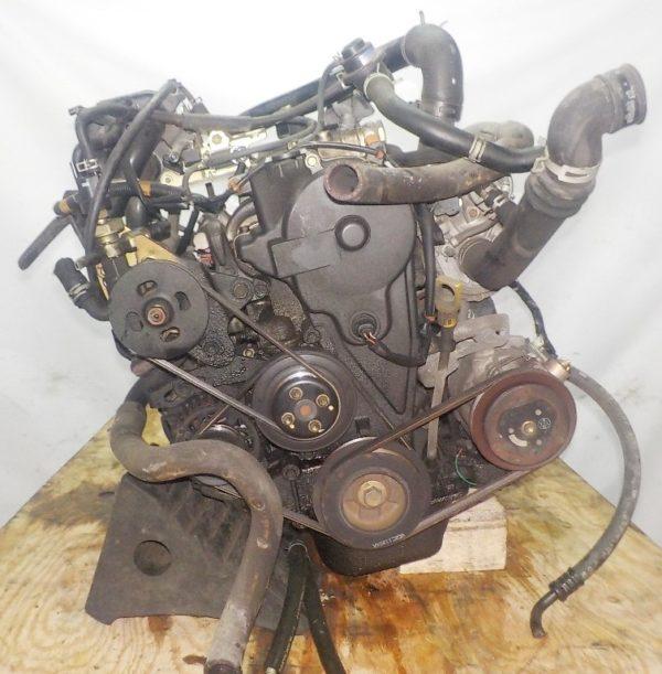 Двигатель Daihatsu EF-DEM - 7309891 AT FR (8950-87450,112200-2181) 119 000 km коса+комп 4