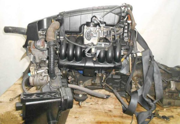 Двигатель Toyota 1G-FE - 6979707 AT 03-70LS A42DE-A04A FR GX110 BEAMS 115 000 km коса+комп 1