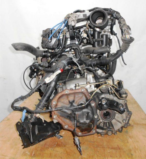 Двигатель Toyota 4E-FE - 0418056 MT C140 FF EL41 77 000 km трамблер коса+комп 5