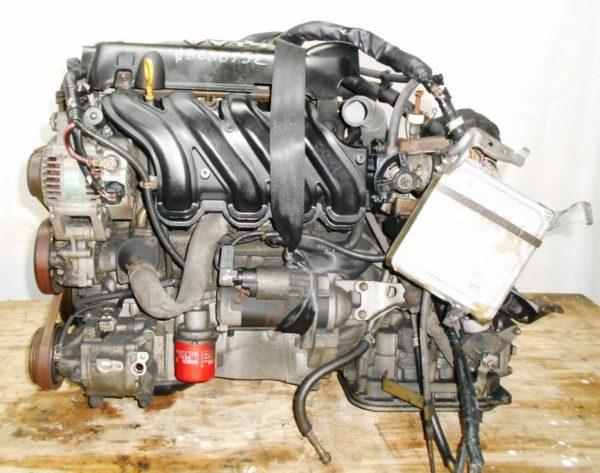 Двигатель Toyota 2NZ-FE - 3688752 AT U441E FF NCP30 коса+комп, без датчика скорости 1