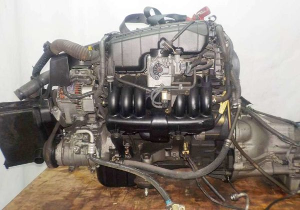 Двигатель Toyota 1G-FE - 6935988 AT 03-70LS A42DE-A04A FR GX110 BEAMS 155 261 km коса+комп 1