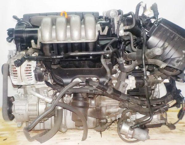 Двигатель Volkswagen AXW - 019737 AT FF коса+комп 1