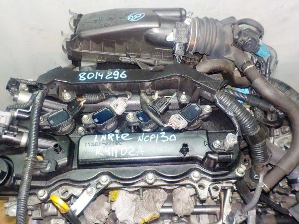 Двигатель Toyota 1NR-FE - 8014296 CVT K411-02A FF NCP130 78 000 km коса+комп 2
