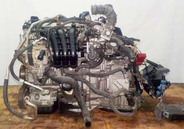 Двигатель Mitsubishi 3A90 - UAJ4373 CVT F1CJB FF A05A 117 977 km коса+комп 1
