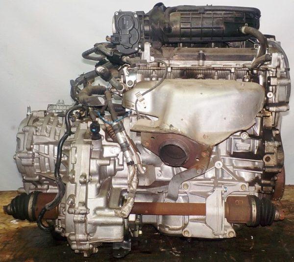 Двигатель Nissan MR18-DE - 057008A CVT RE0F08A FF коса+комп 4