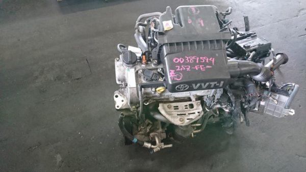 Двигатель Toyota 2SZ-FE - БЕЗ НОМЕРА CVT K410-05A FF SCP90 Vitz коса+комп 1