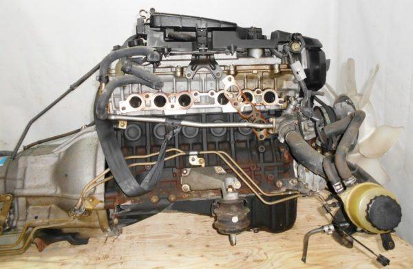 Двигатель Toyota 1G-FE - 6945701 AT 03-70LS A42DE-A05A FR GX110 BEAMS 108 000 km коса+комп 3