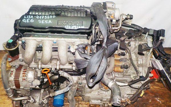 Двигатель Honda L13A - 4175670 CVT SE5A FF GE6 124 091 km коса+комп 2