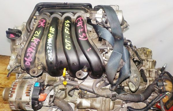 Двигатель Nissan MR18-DE - 062719A CVT RE0F08A FF коса+комп 2