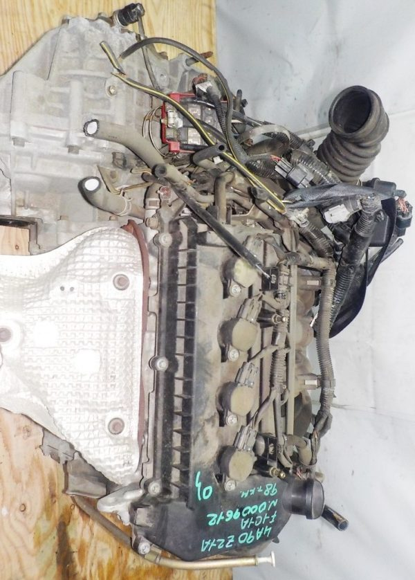 Двигатель Mitsubishi 4A90 - 0009612 CVT F1C1A FF Z21A 98 000 km коса+комп 2