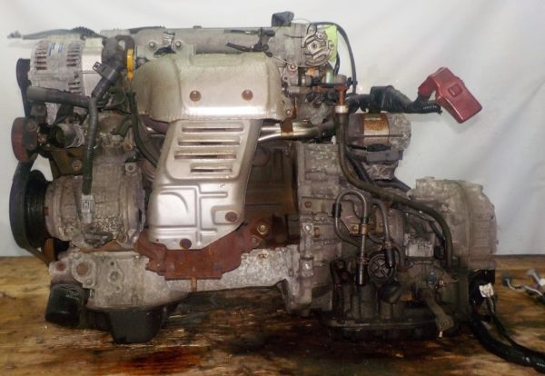 Двигатель Toyota 3S-GE - 9294388 AT FF ST202 трамблер коса+комп 1