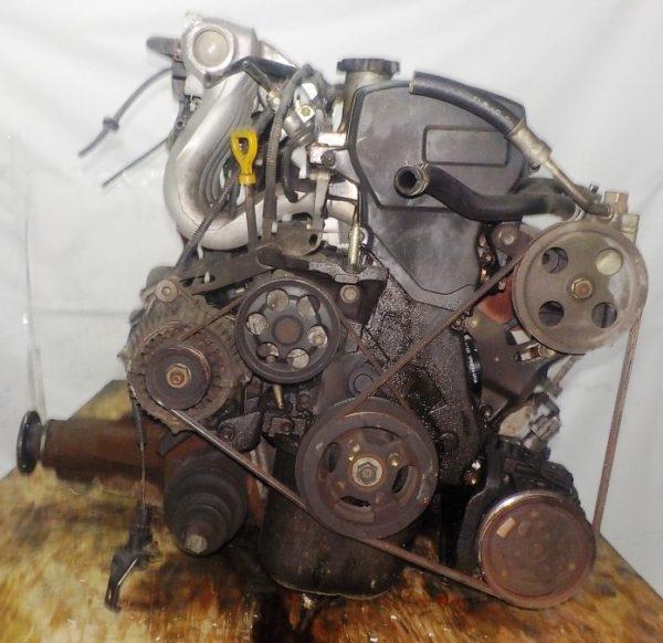 Двигатель Toyota 5E-FE - 0880195 AT A244F FF 4WD трамблер коса+комп 4