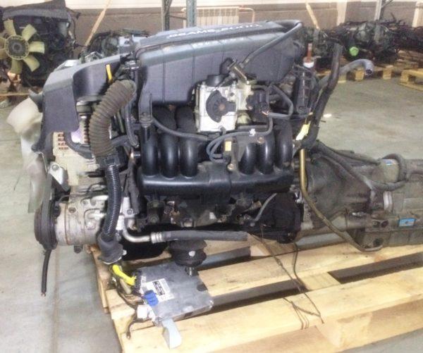 Двигатель Toyota 1G-FE - 6940453 AT 03-70LS 35000-2C400 FR BEAMS коса+комп 1