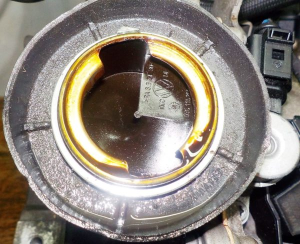Двигатель Volkswagen BLF - 100035 AT FF 6