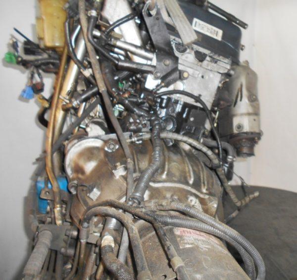 Двигатель Isuzu 4JX1-T - 674792 AT 30-40LE FR (99KR406353) 4WD Bighorn трос кикдауна коса+комп, неисправна форсунка 7