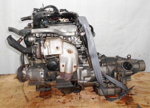 Двигатель Daihatsu EF-DET - 6479622 AT FR JBS5 J131G 98 000 km коса+комп 1