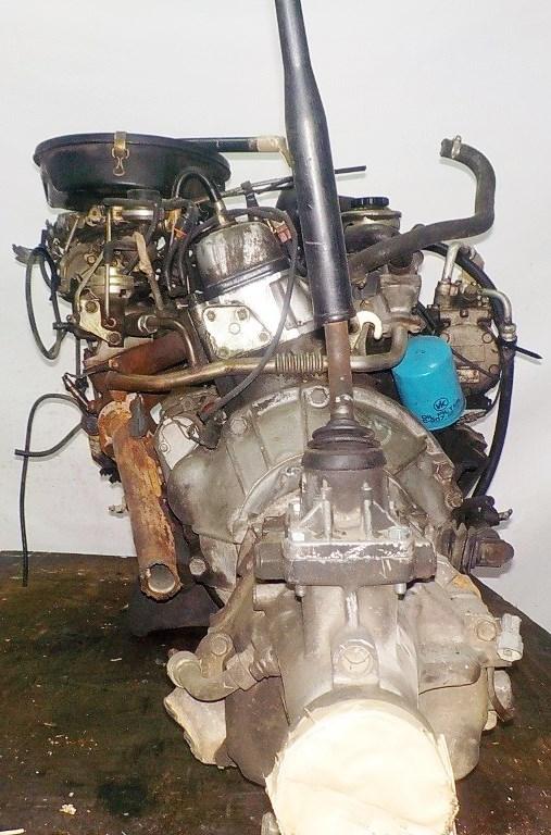 Двигатель Toyota 7K - 0223811 5MT FR carburator 4