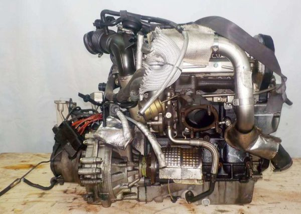 Двигатель Audi AUQ - 005924 MT FF Audi TT 140 960 km + подвеска коса+комп 4