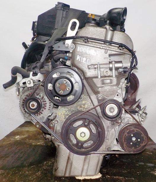 Двигатель Suzuki K12B - 1006164 CVT FF ZC71S коса+комп 3