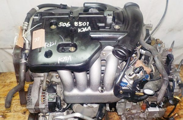 КПП Honda K24A AT MFHA FF RB1,  брак 1-го соленоида 2