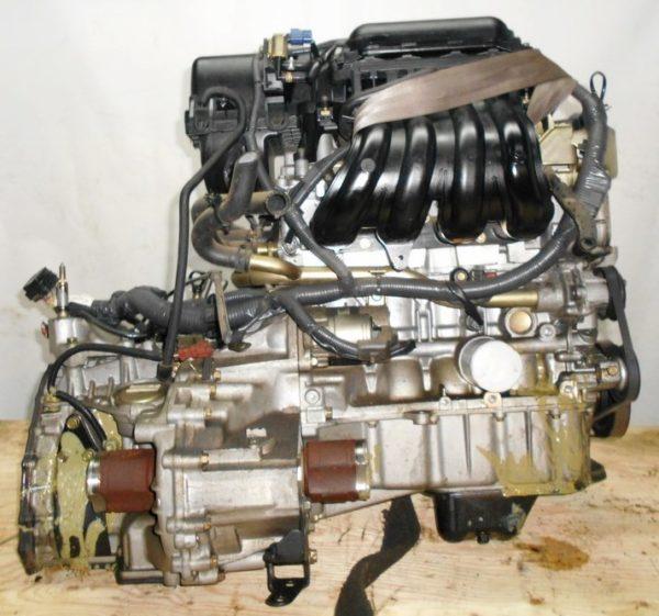 Двигатель Nissan CR12-DE - 251487 AT RE4F03B FQ40 FF AK12 75 000 km коса+комп 4