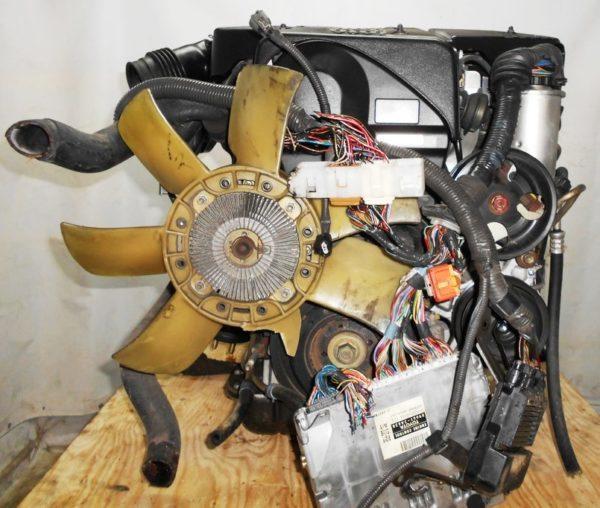 Двигатель Toyota 2JZ-FSE - 0751239 AT 35-50LS A650E FR JZS175 85 000 km 5