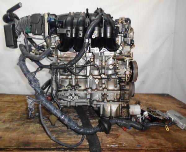 Двигатель Nissan QR20-DE - 375805A CVT RE0F06A FP54 FF TP12 139 000 km коса+комп 5