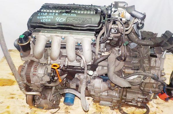 Двигатель Honda L13A - 4244509 CVT SE5A FF GE6 101 000 km коса+комп 2