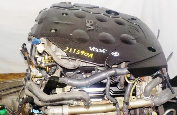 Двигатель Nissan VQ25-DD - 211590A AT RE5R05A FR 4WD NEO коса+комп 2