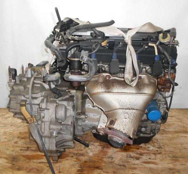 Двигатель Honda K20B - 1011024 CVT MZXA FF RN5 64 998 km коса+комп 4