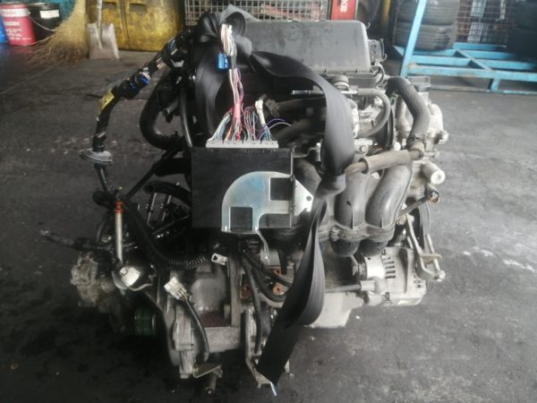 Двигатель Daihatsu K3-VE - 1880913 AT A4B-01A FF QNC20 122 000 km коса+комп 1