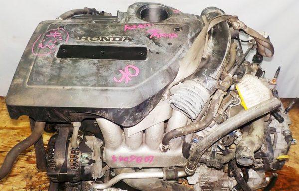 Двигатель Honda K24A - 5409807 AT MFHA FF RB1 коса+комп 2