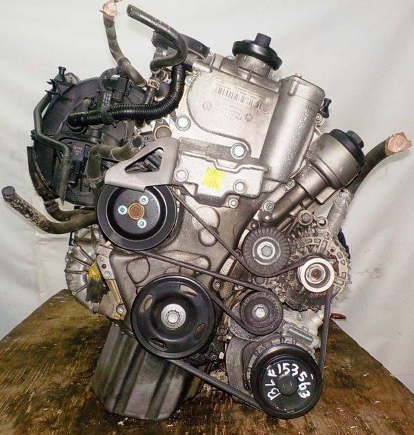 Двигатель Volkswagen BLF - 153563 AT FF коса+комп 5