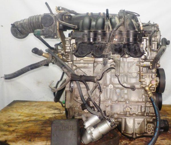 Двигатель Nissan QR20-DE - 173620A CVT FF TC24 брак корпуса генератора без КПП 5